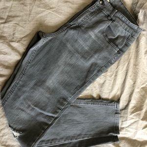 Harlow grey skinny jeans